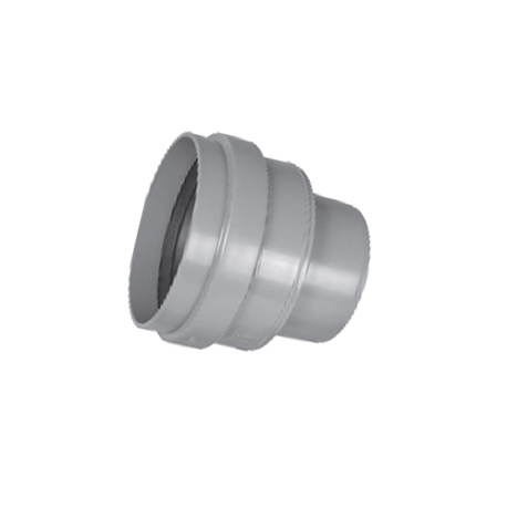 Adapter with gasket