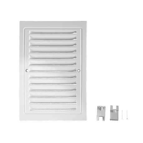 Air vent grille with net