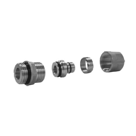 PEX connector, O'ring